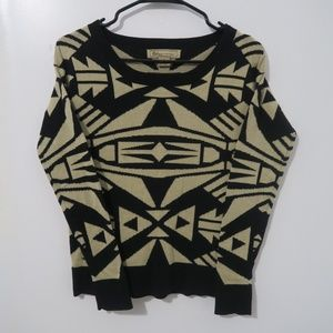 Billy by Flying Tomato Geometric Sweater